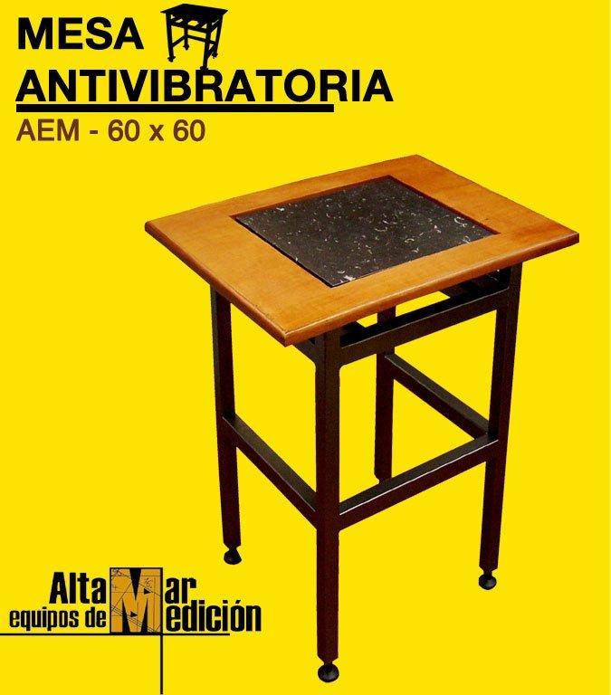 Mesa antivibratoria altamar equipos de medici n for Mesa 60 x 60 extensible